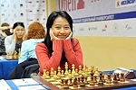 Round 8 Report. Irine Kharisma Sukandar Gained a Convincing Victory in the Women's Student Grandmaster Tournament